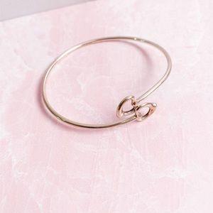 Tiffany & Co • Double Open Heart Bangle